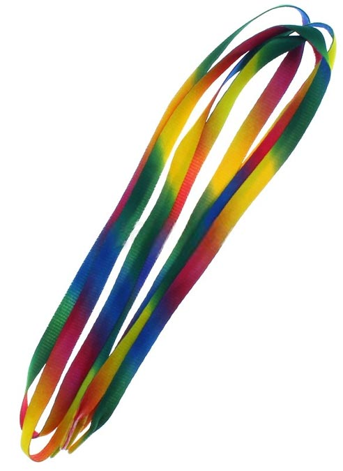 Rainbow Gradient Shoe Laces
