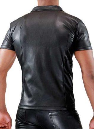 ToF Paris Fetish Zip Vest Black Extra Large