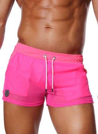 ToF Paris Happy Shorts Neon Pink Small